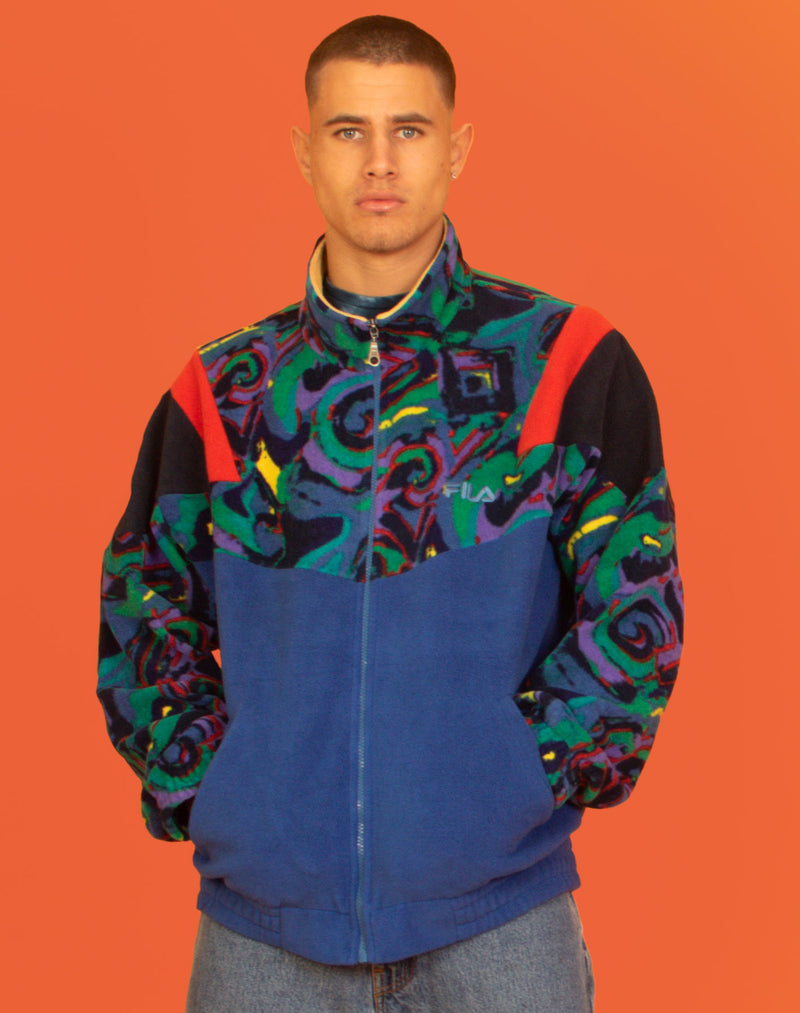 FILA 90'S PRINT FLEECE