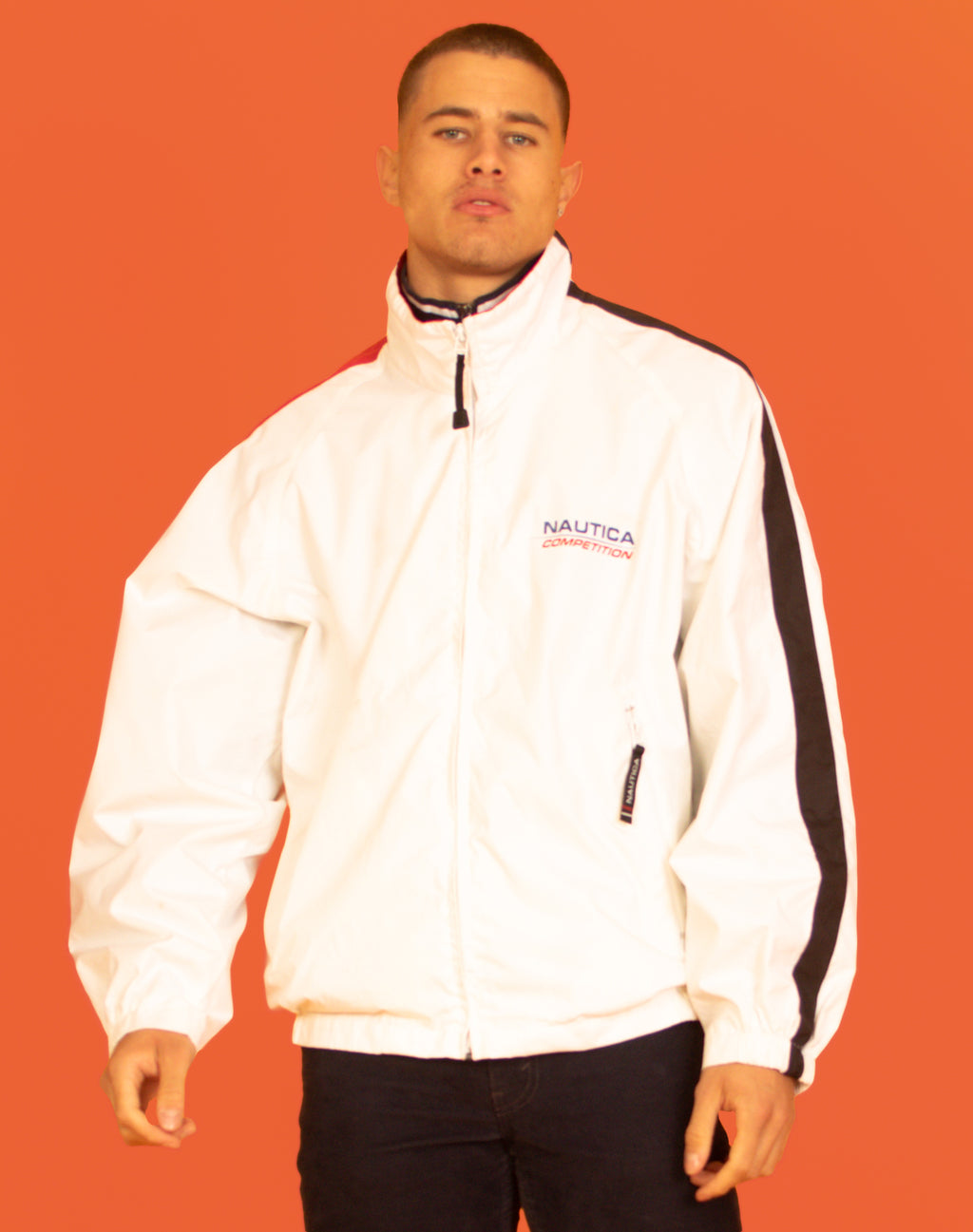 NAUTICA WHITE WATERPROOF JACKET