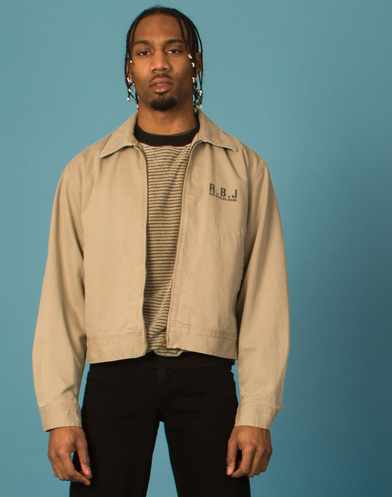 REPLAY BEIGE DENIM JACKET