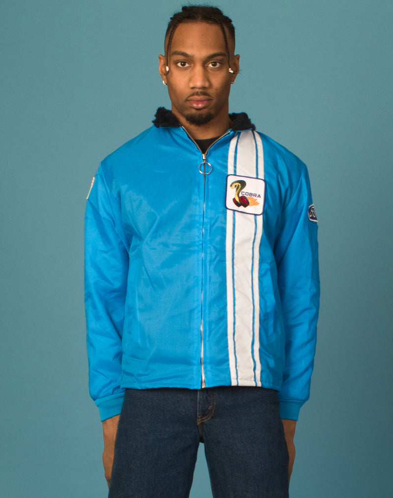 BLUE WATERPROOF CORBRA JACKET