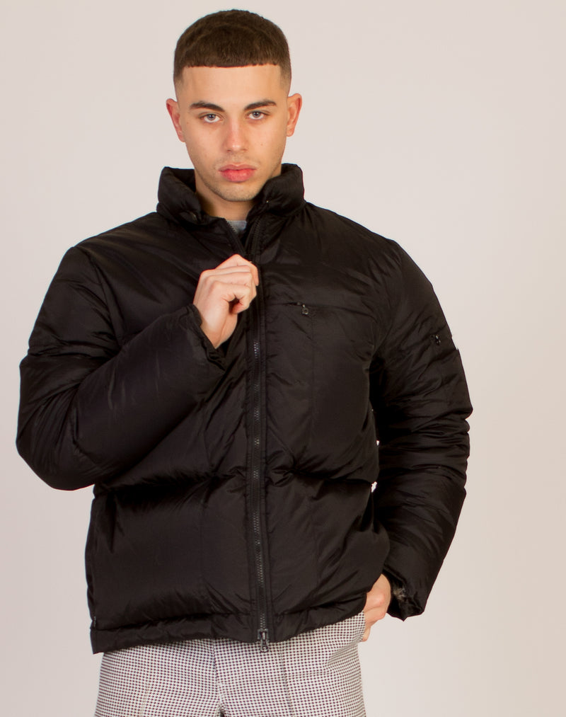 GIRBAUD BLACK PUFFER COAT