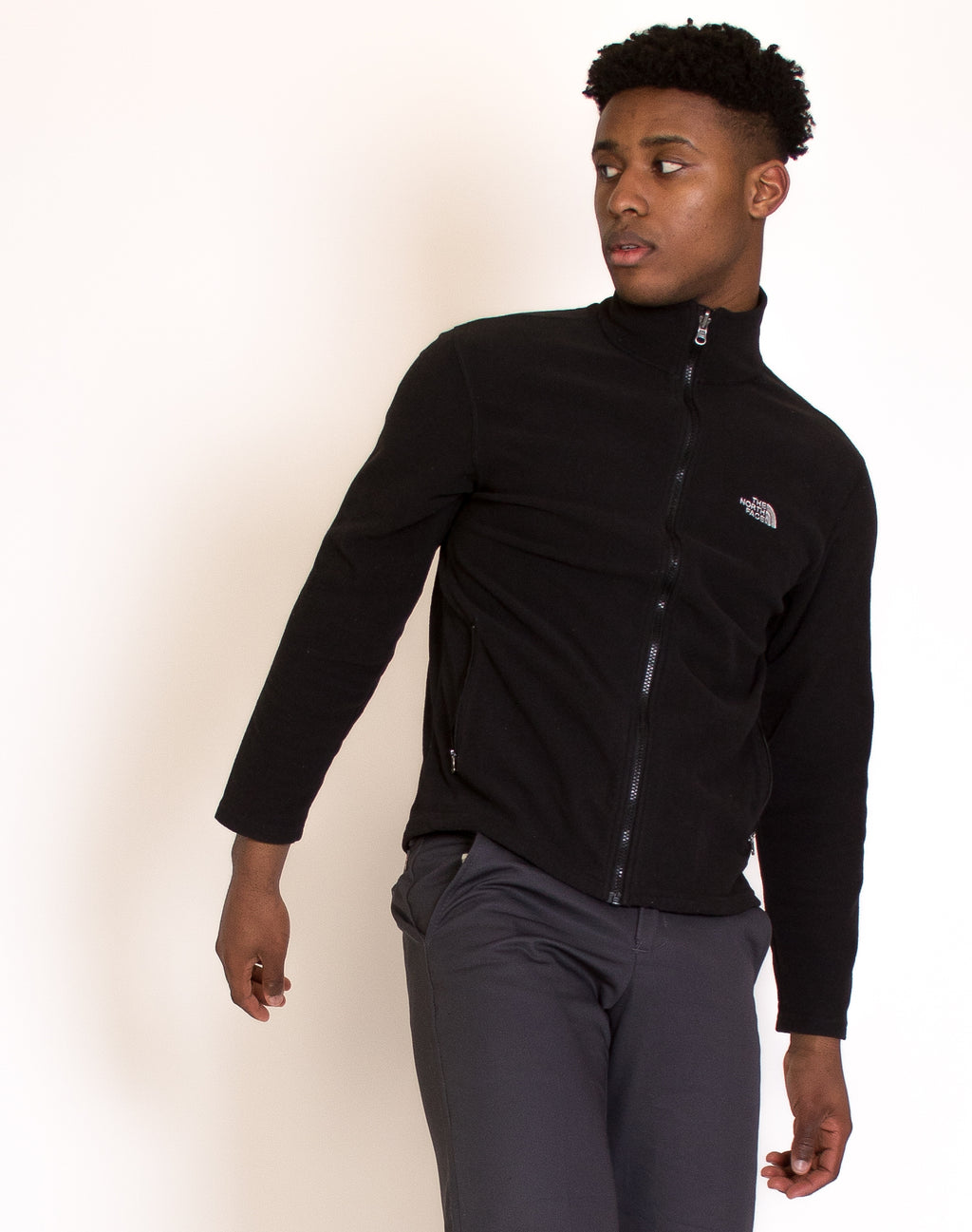 NORTH FACE BLACK FLEECE