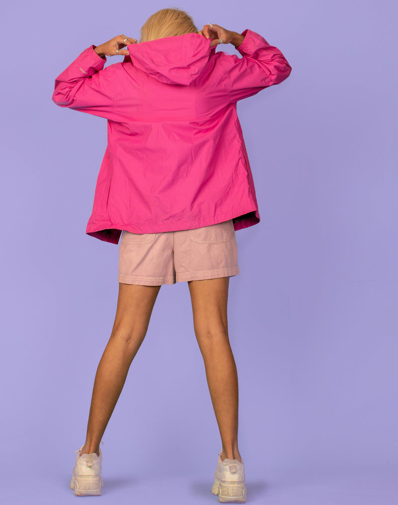 NORTH FACE WATERPROOF PINK JACKET