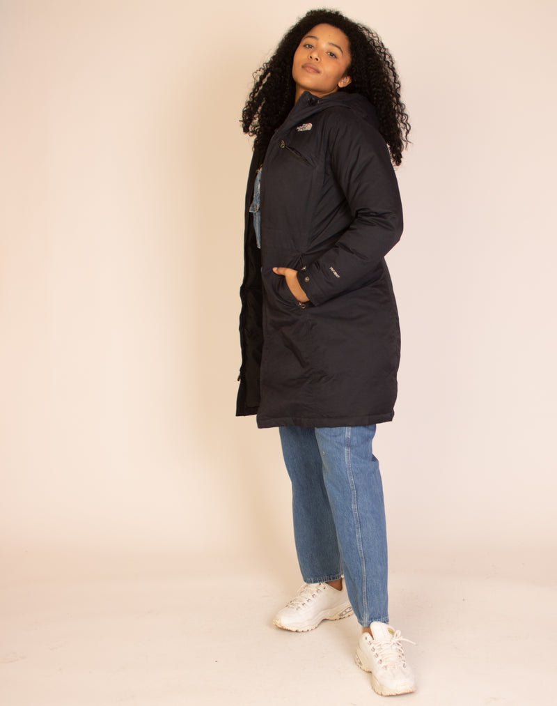 NORTH FACE LONG WATERPROOF COAT