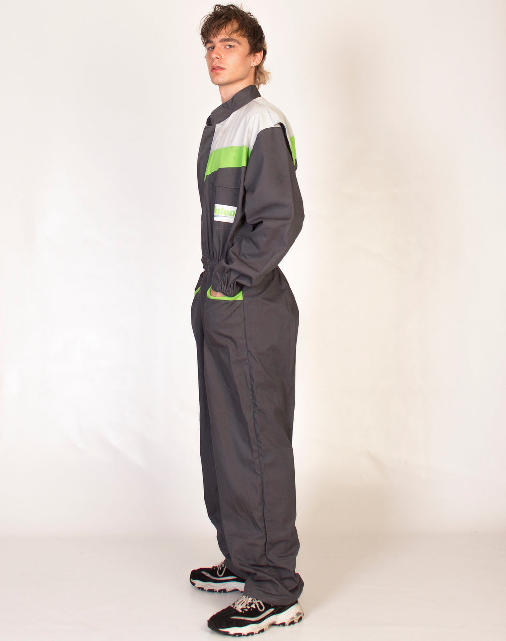 VALEO RACING GREY OVERALLS