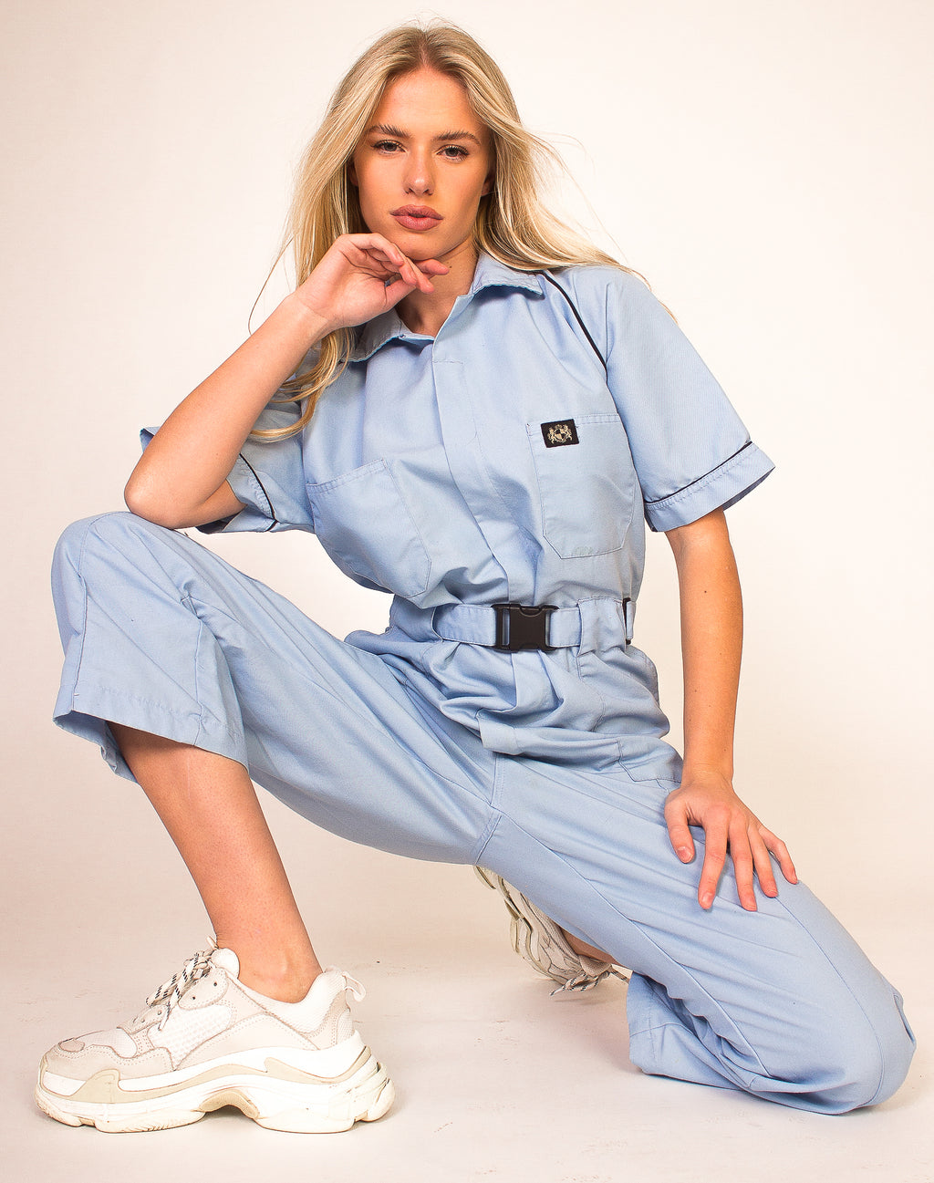 BABY BLUE BOILERSUIT