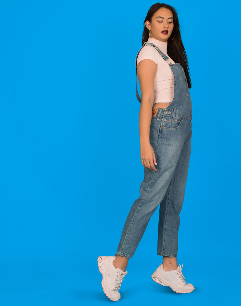 LEVI'S BLUE DUNGAREES