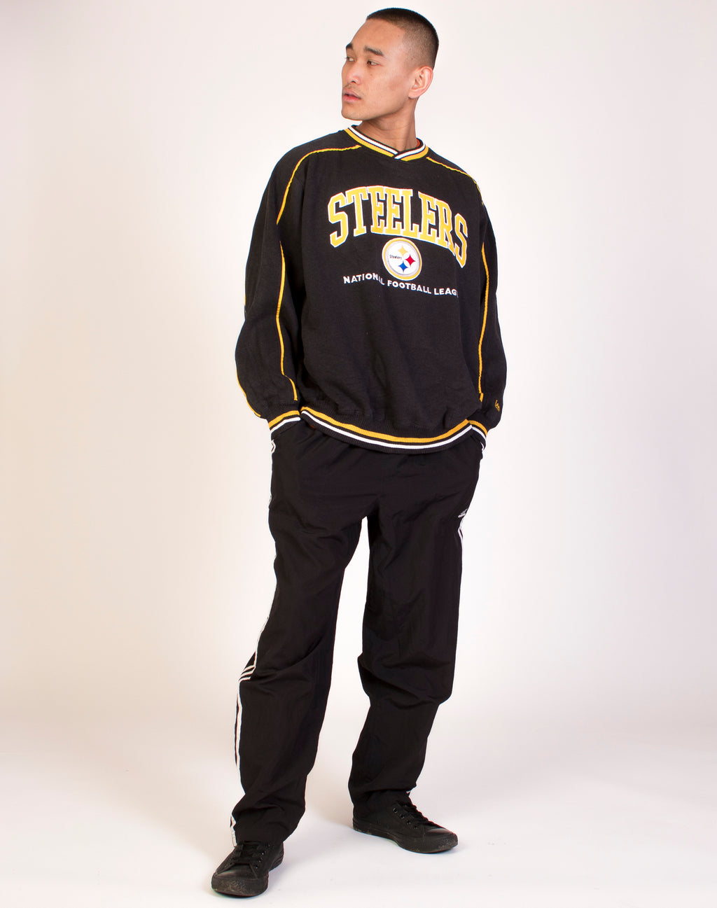 LEE STEELERS VARSITY SWEAT