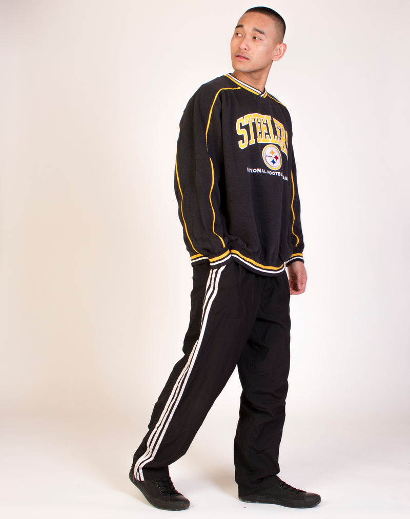 LEE STEELERS VARSITY SWEATSHIRT