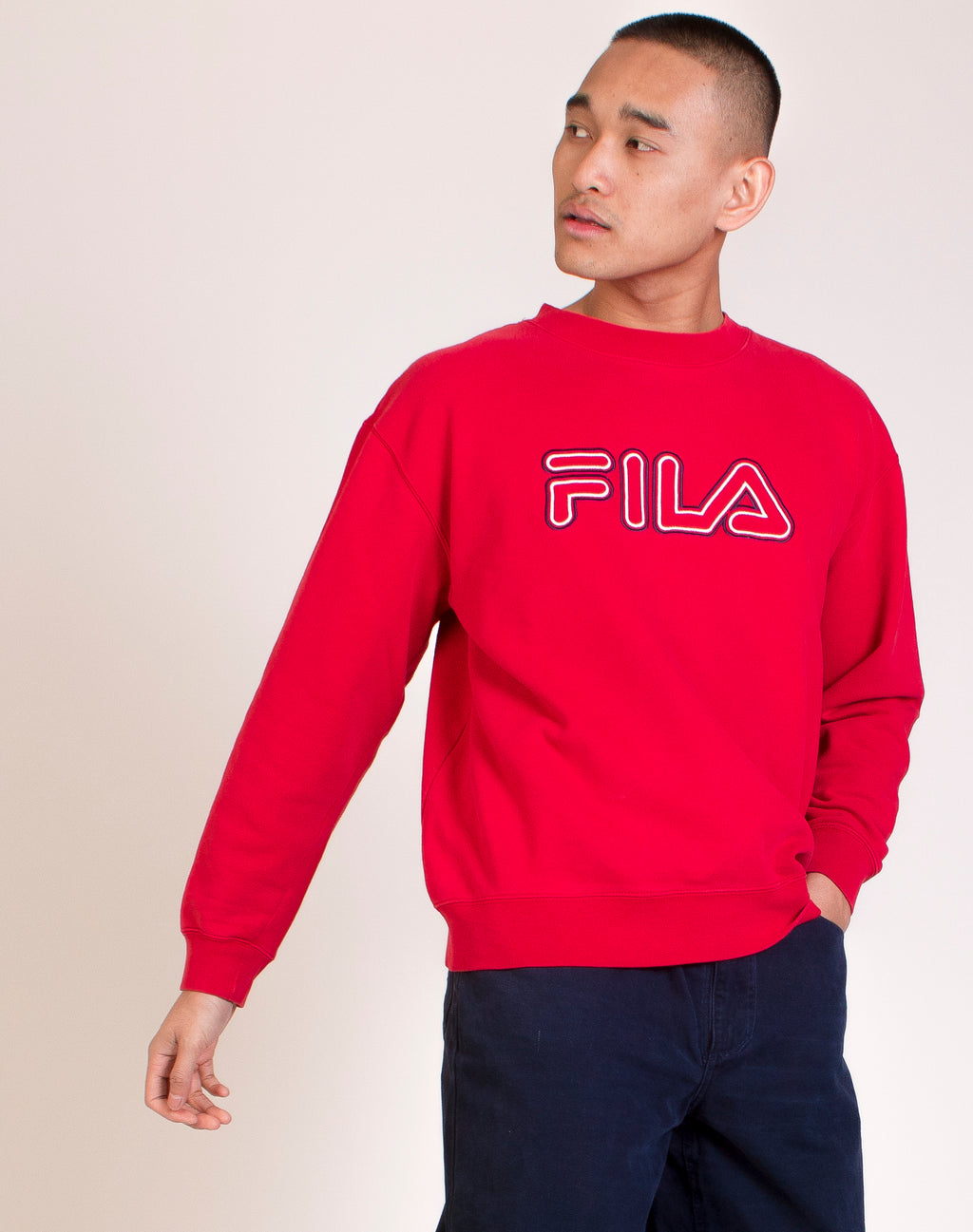 FILA RED LOGO JUMPER