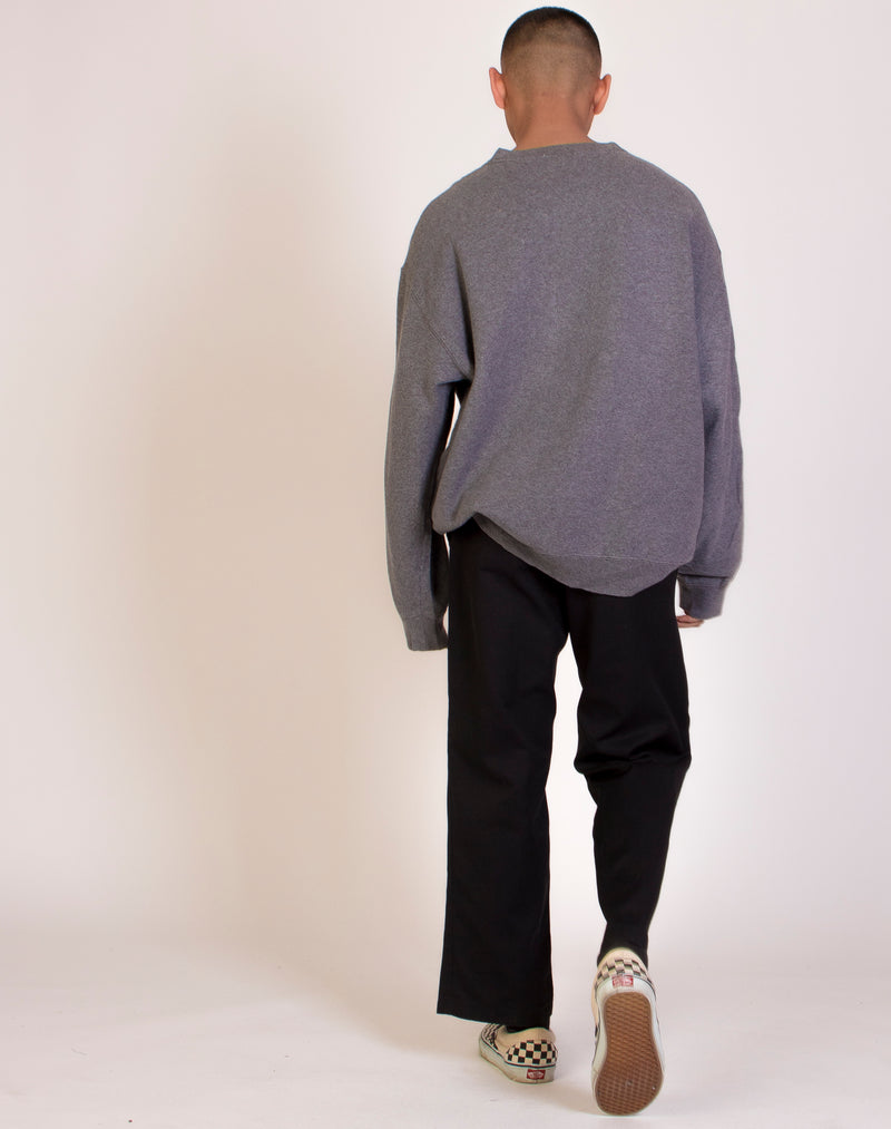 TOMMY HILFIGER OVERSIZED GREY SWEAT