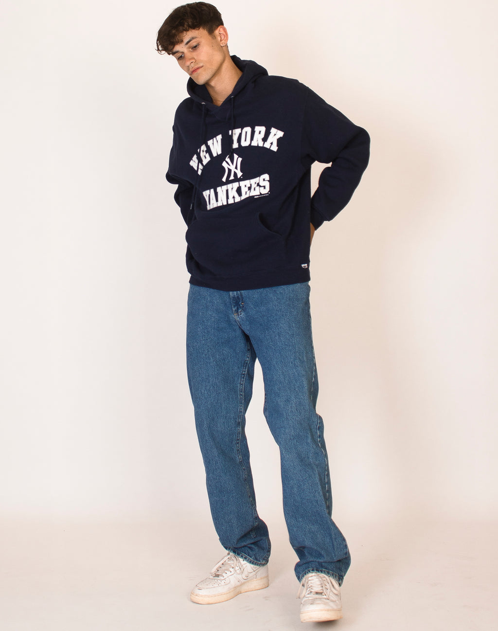 NEW YORK YANKEES NAVY HOODIE