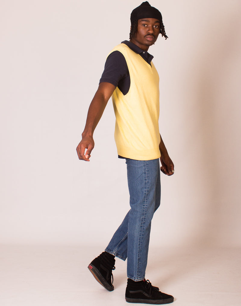 RALPH LAUREN LEMON SWEATER VEST