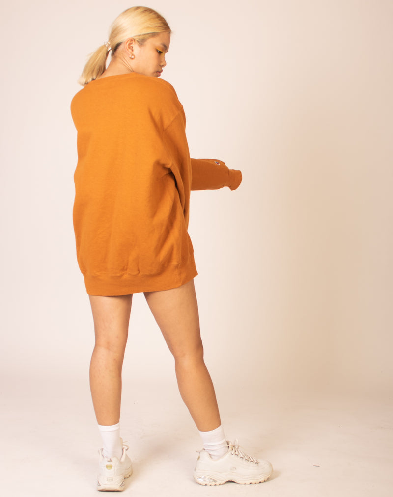 CHAMPION OVERSIZED TANNED JUMPER