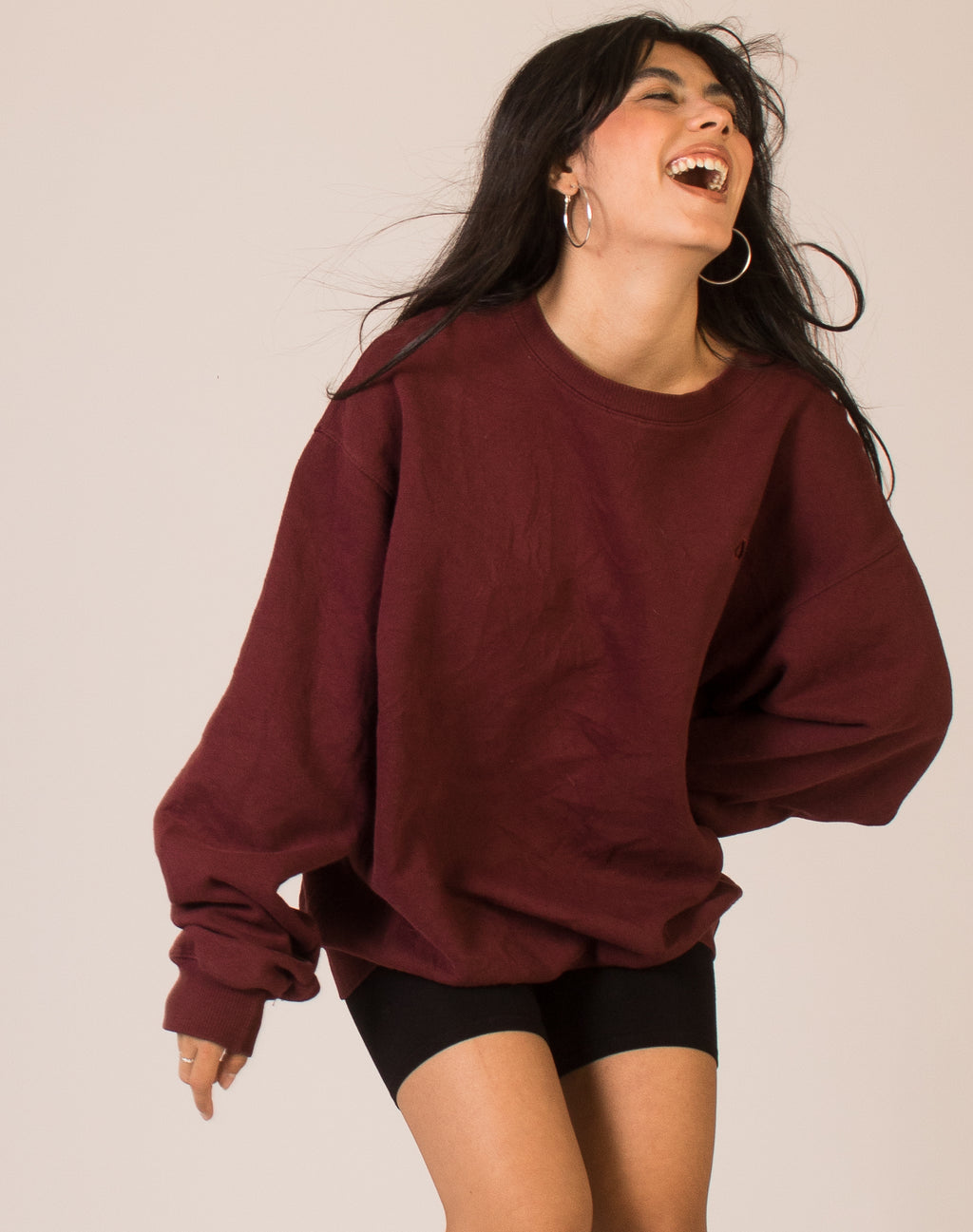 CHAMPION BURGUNDY SWEATSHIRT