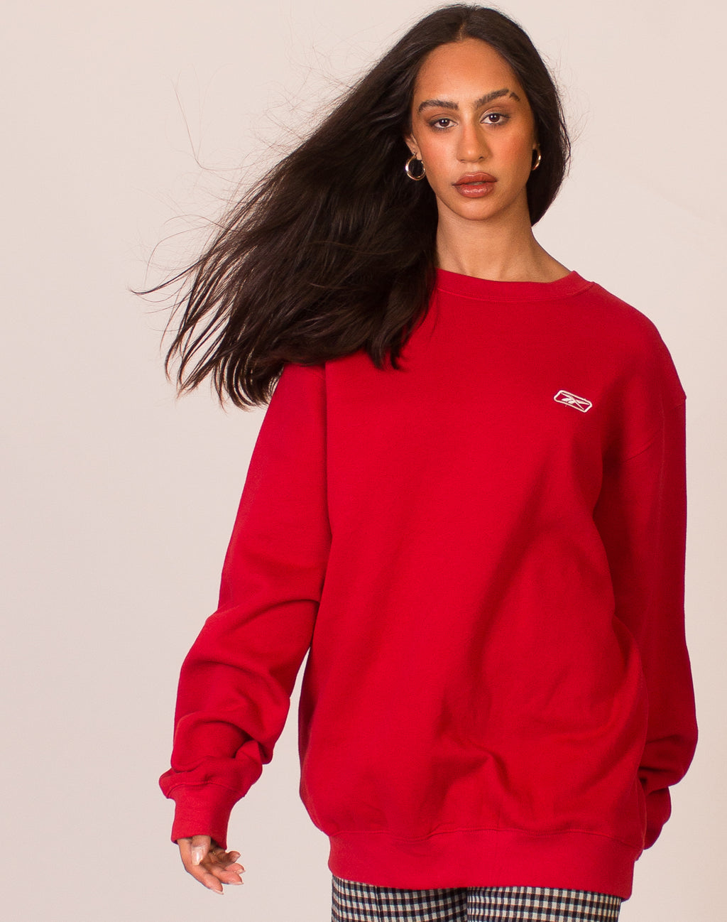 REEBOK RED SWEATSHIRT