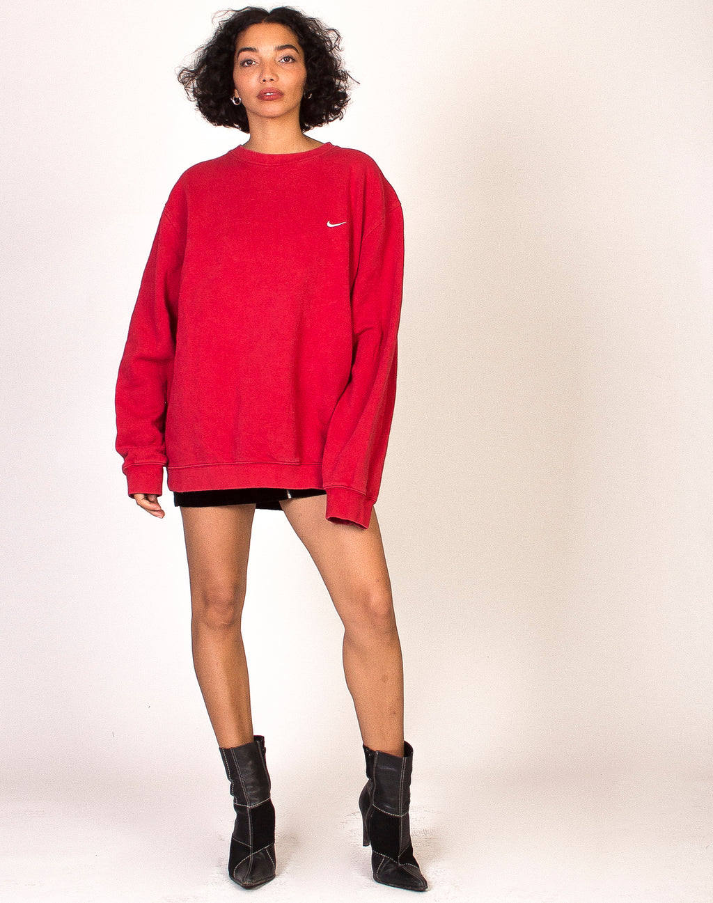 NIKE RED TICK SWEATSHIRT