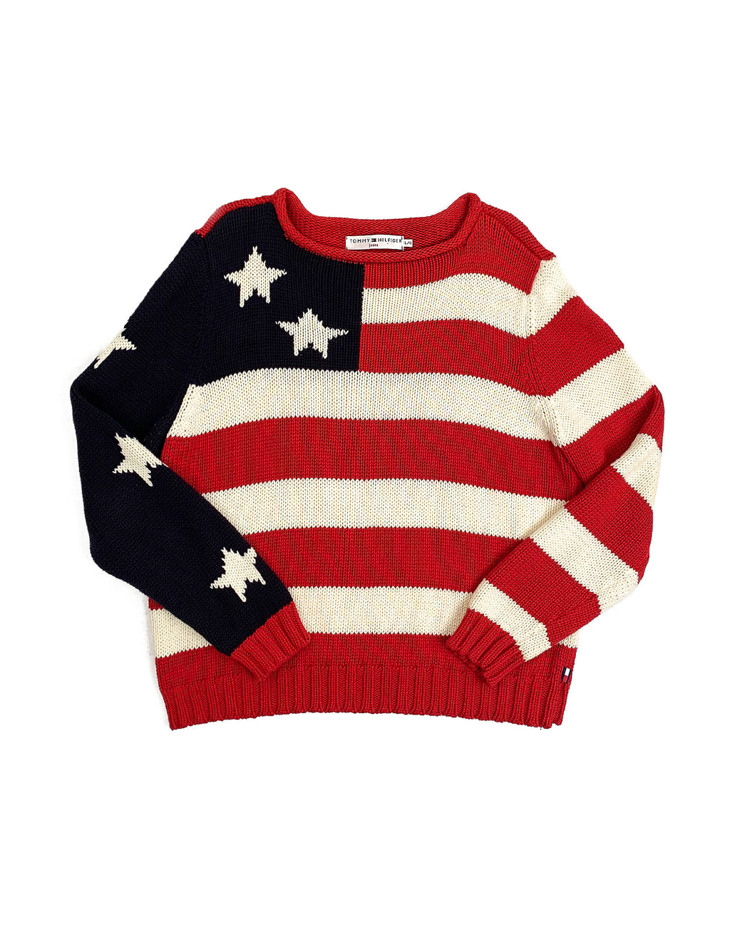 TOMMY HILFIGER USA KNITTED JUMPER