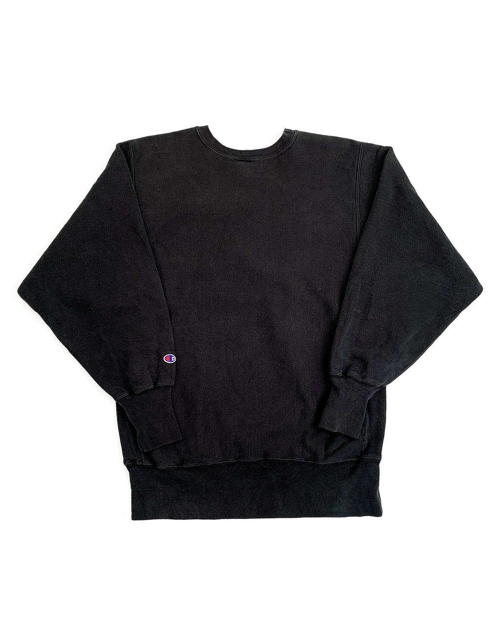 CHAMPION BLACK SWEATSHIRT