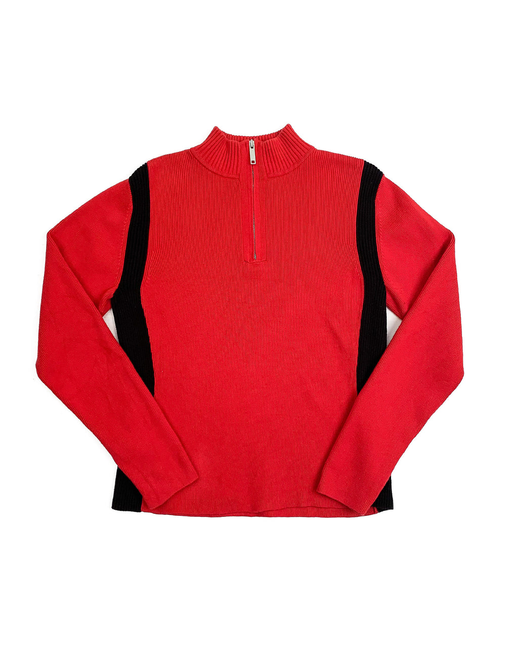 TOMMY HILFIGER RED PULLOVER