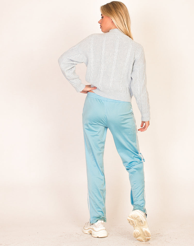 BABY BLUE HIGH NECK KNIT