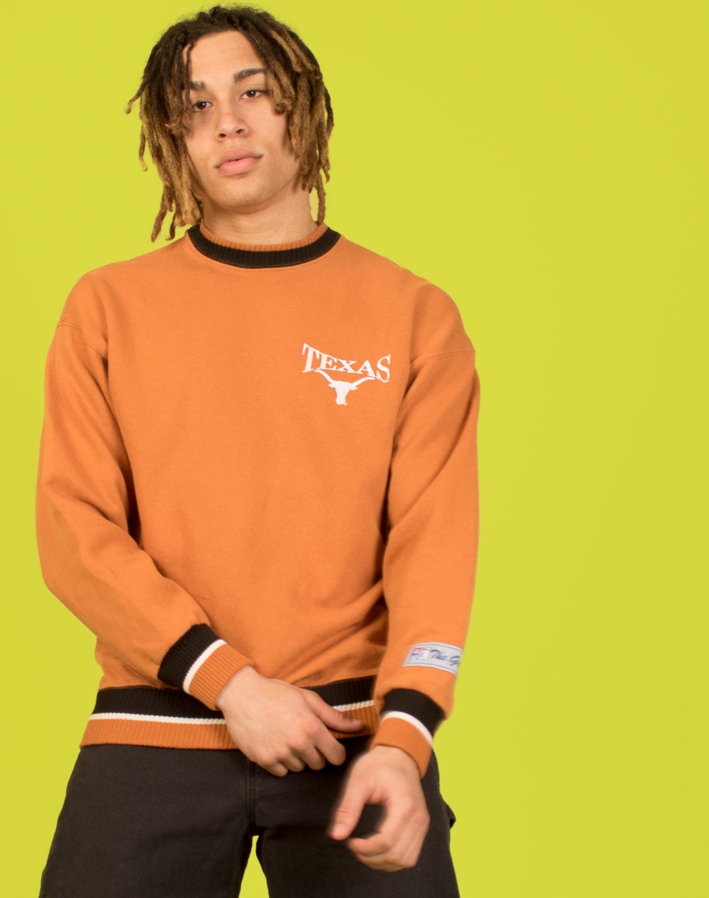 ORANGE TEXAS JUMPER