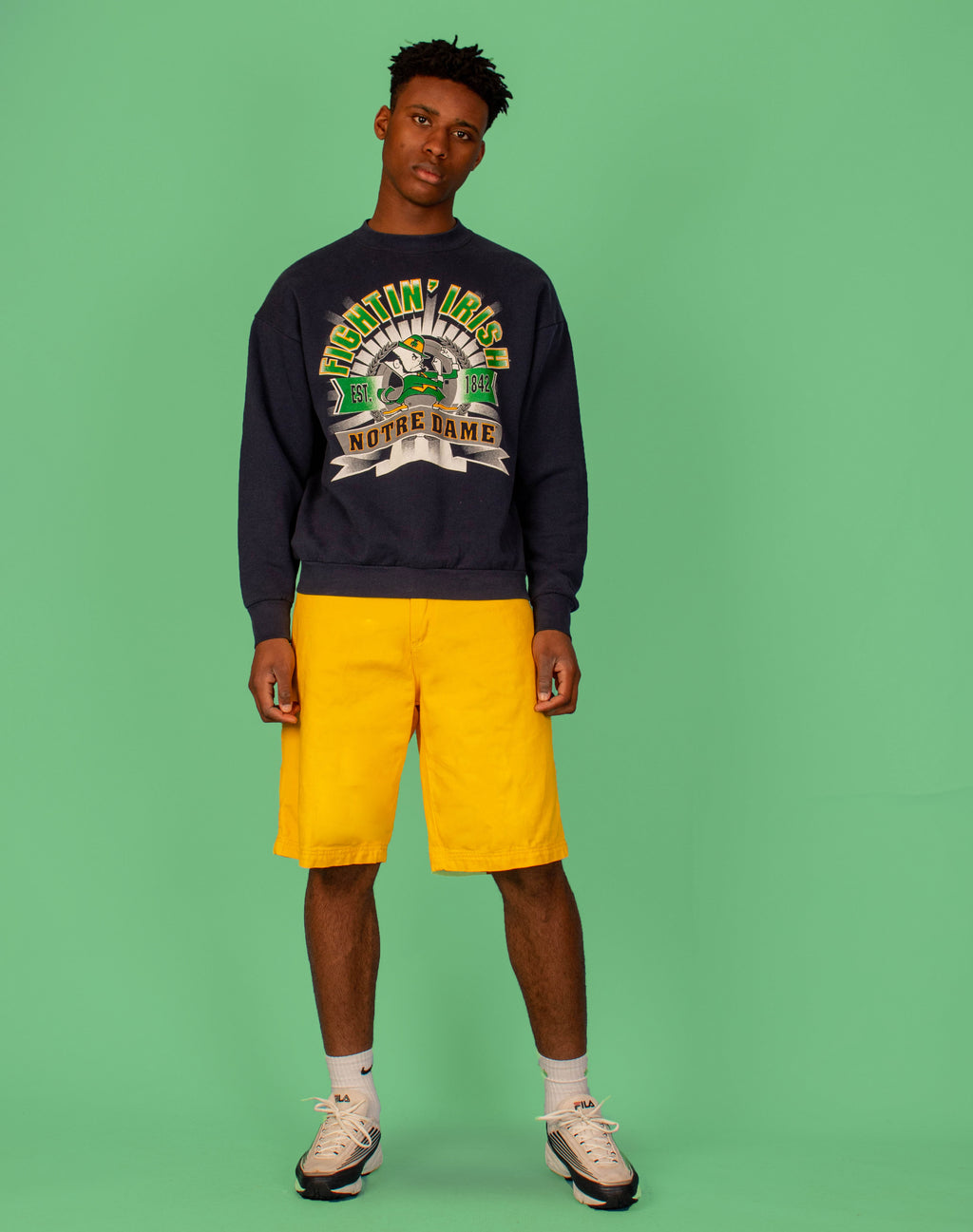 FIGHTIN' IRISH NFL SWEATER