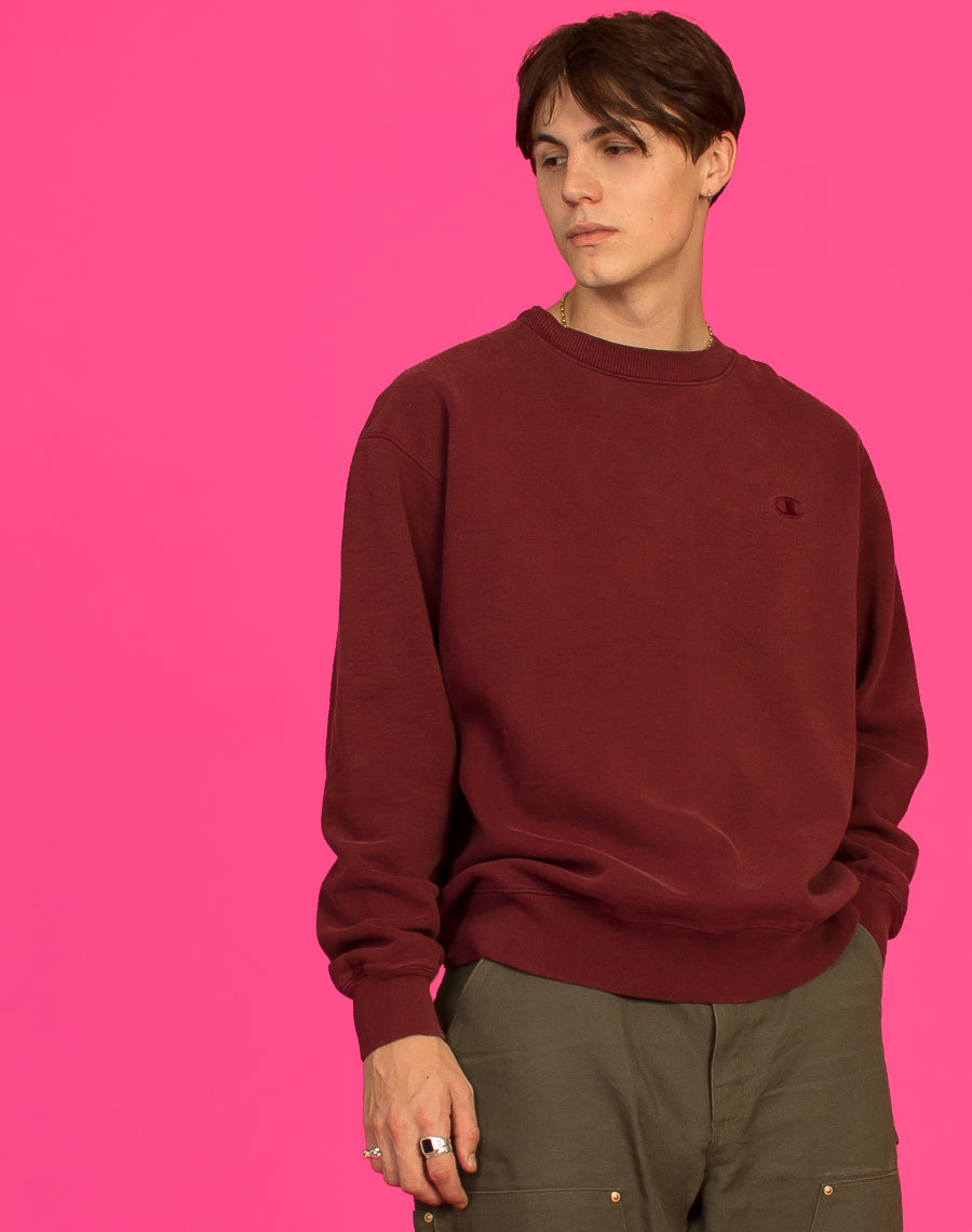 BURGUNDY CHAMPION SWEAT