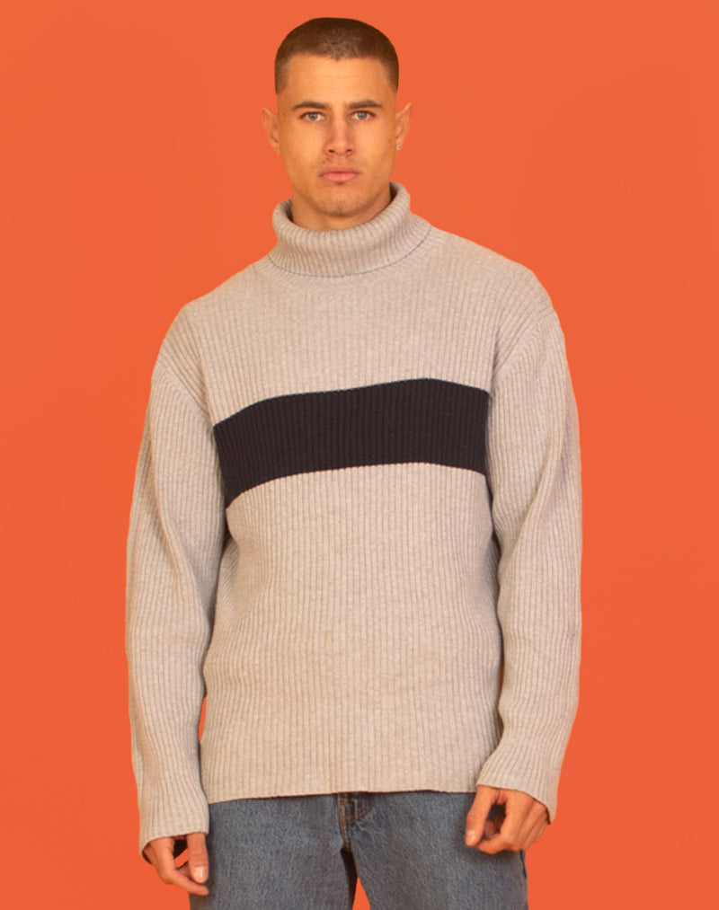 NAUTICA TURTLENECK SWEATER