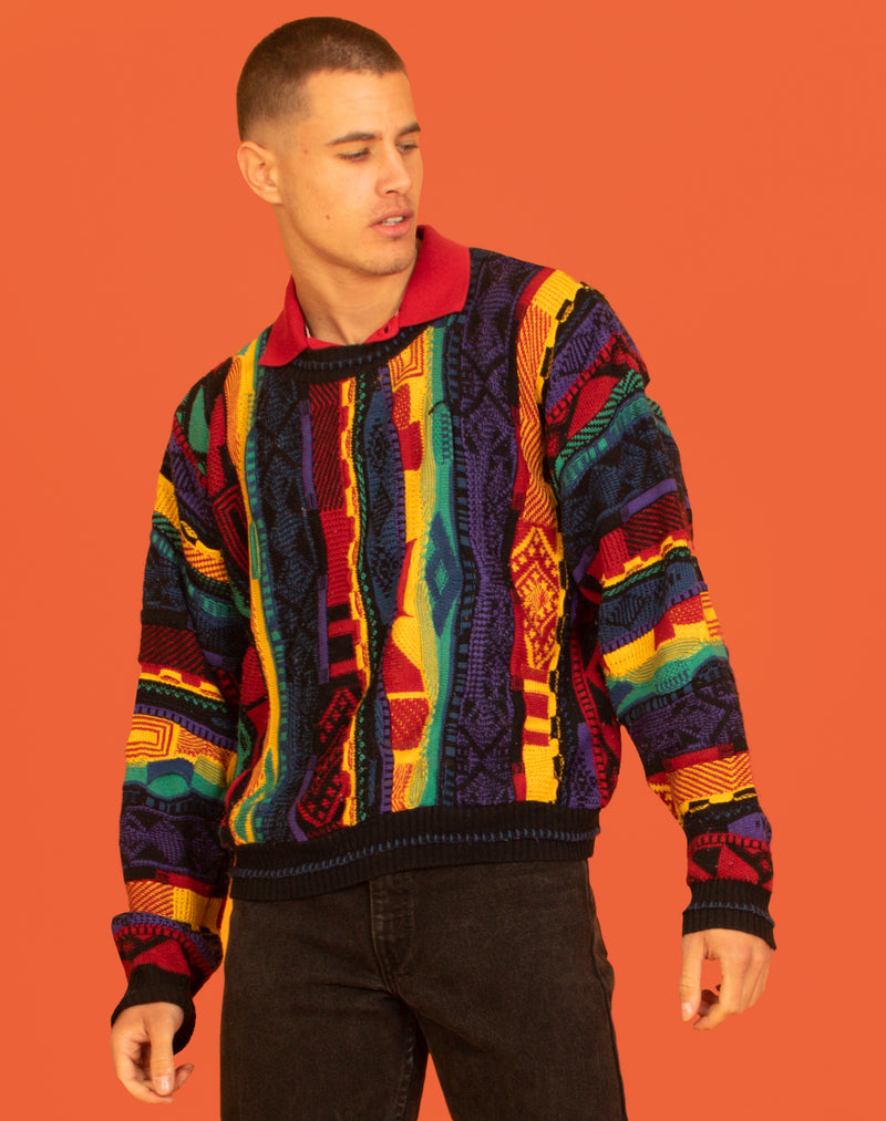 RAINBOW GRANDPA JUMPER