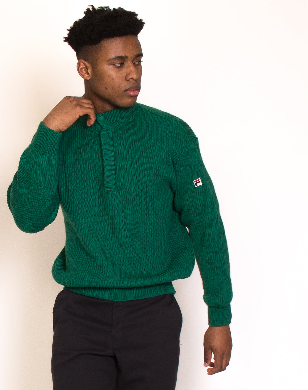 FILA GREEN KNIT