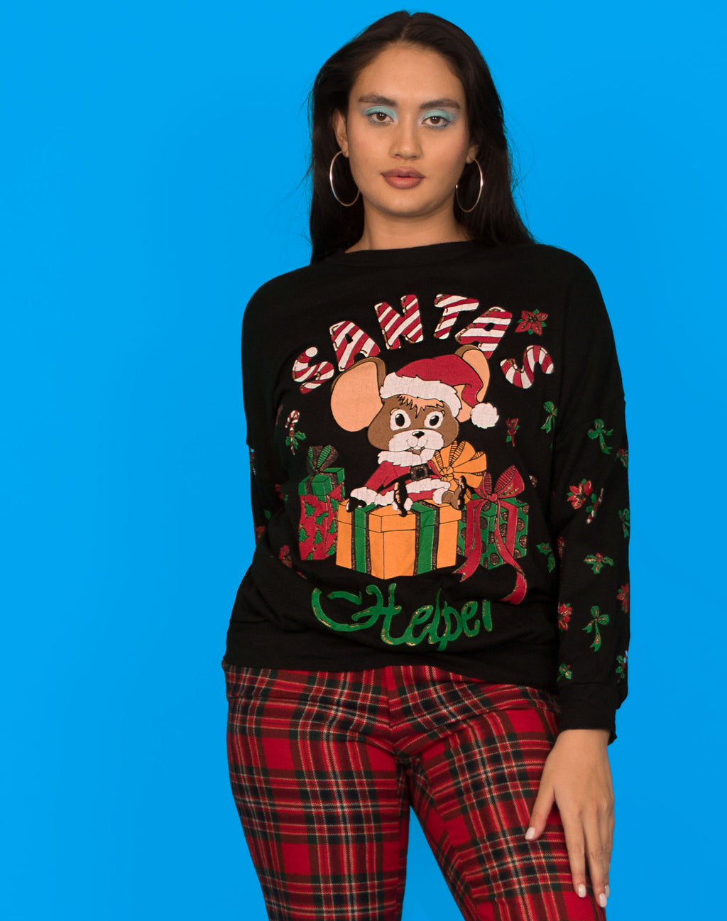 SANTA'S HELPER CHRISTMAS JUMPER
