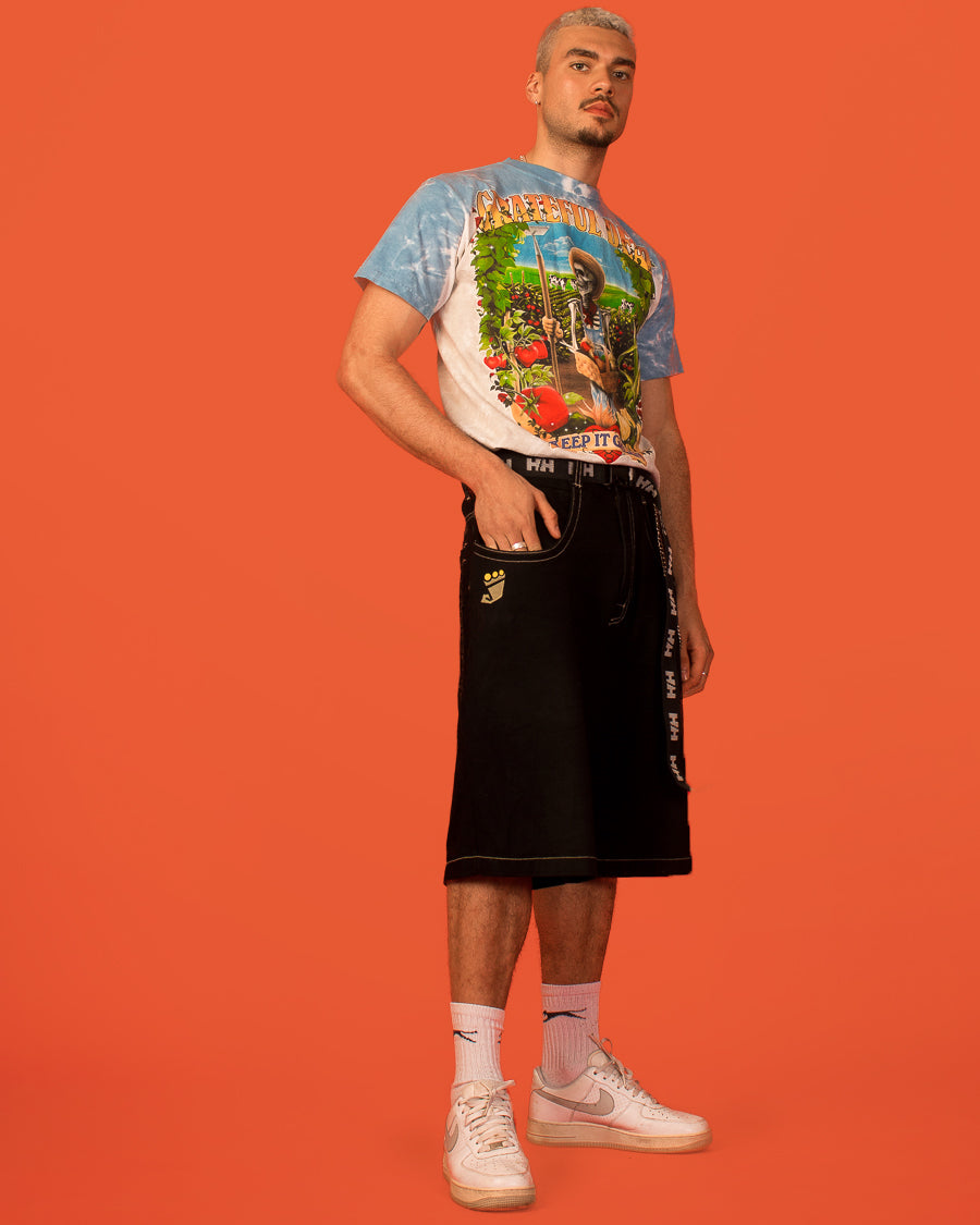 JNCO CONTRAST STITCH SHORTS