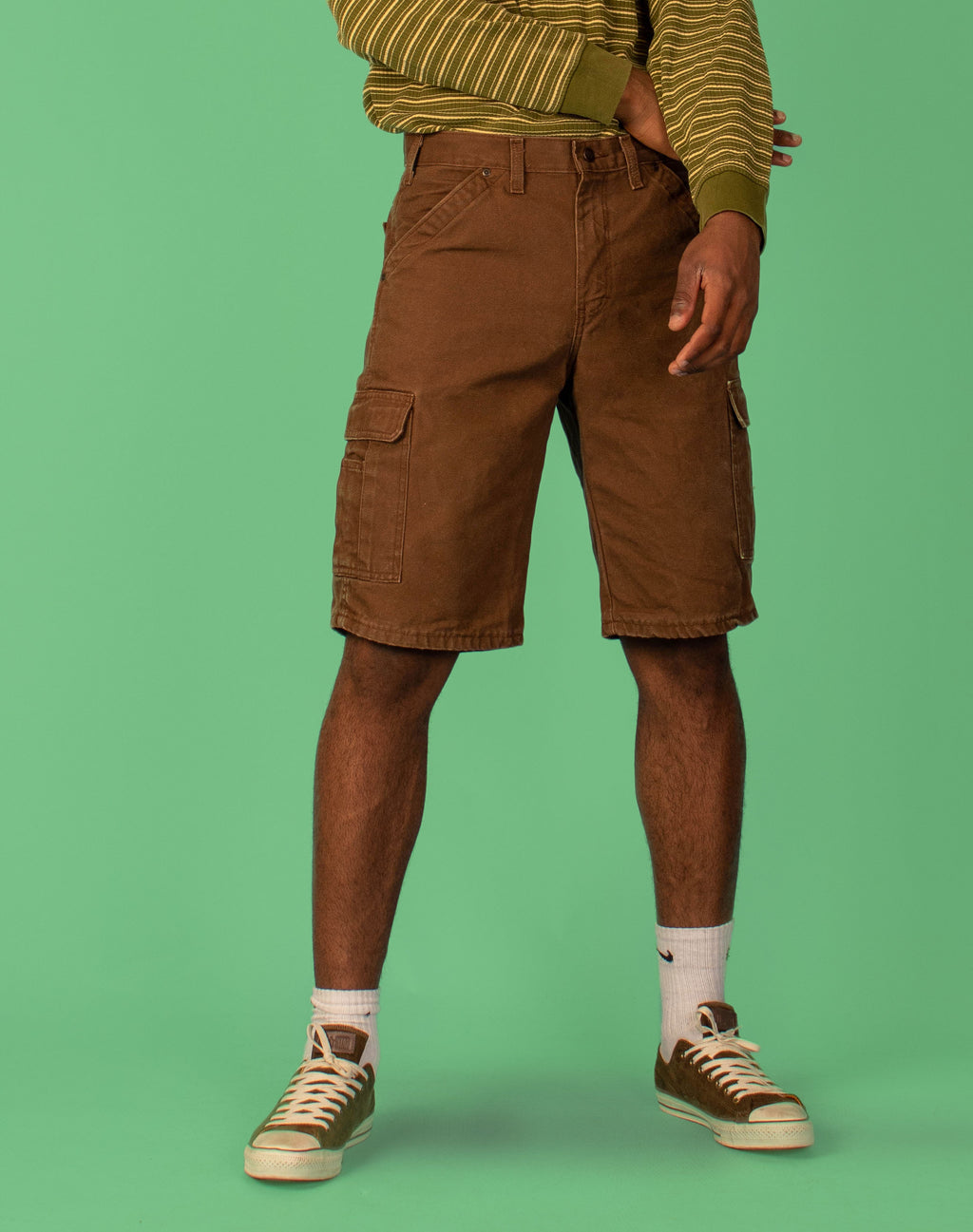 DICKIES BROWN SHORTS