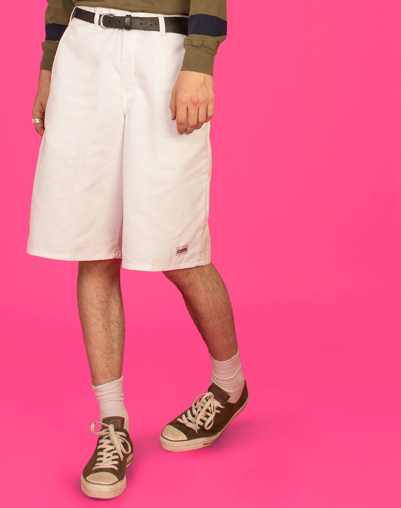 DICKIES WHITE SHORTS