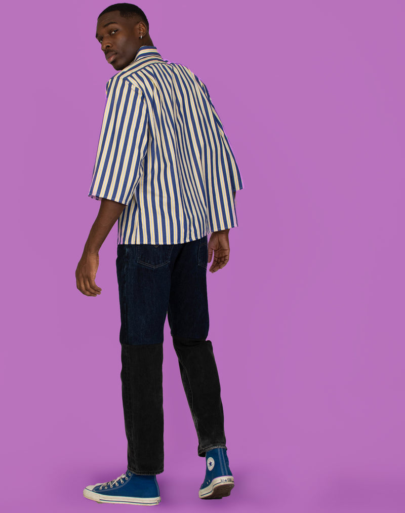 RALPH STRIPED REUBEN SHIRT