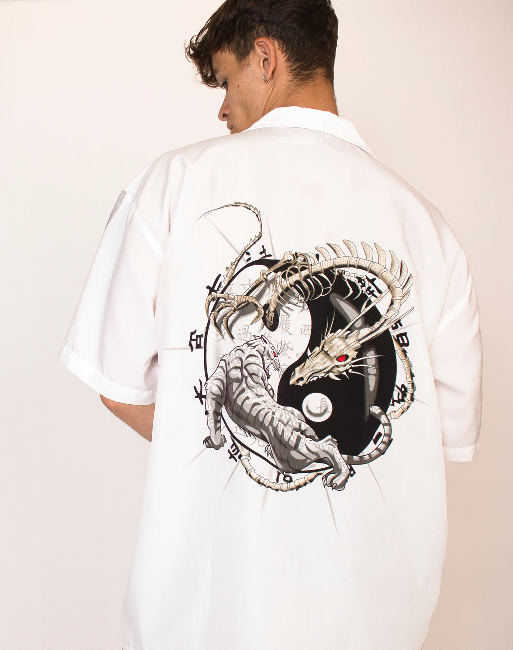 WHITE DRAGON SHIRT