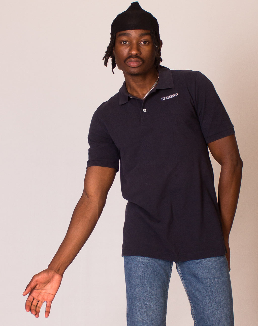 KAPPA NAVY POLO SHIRT