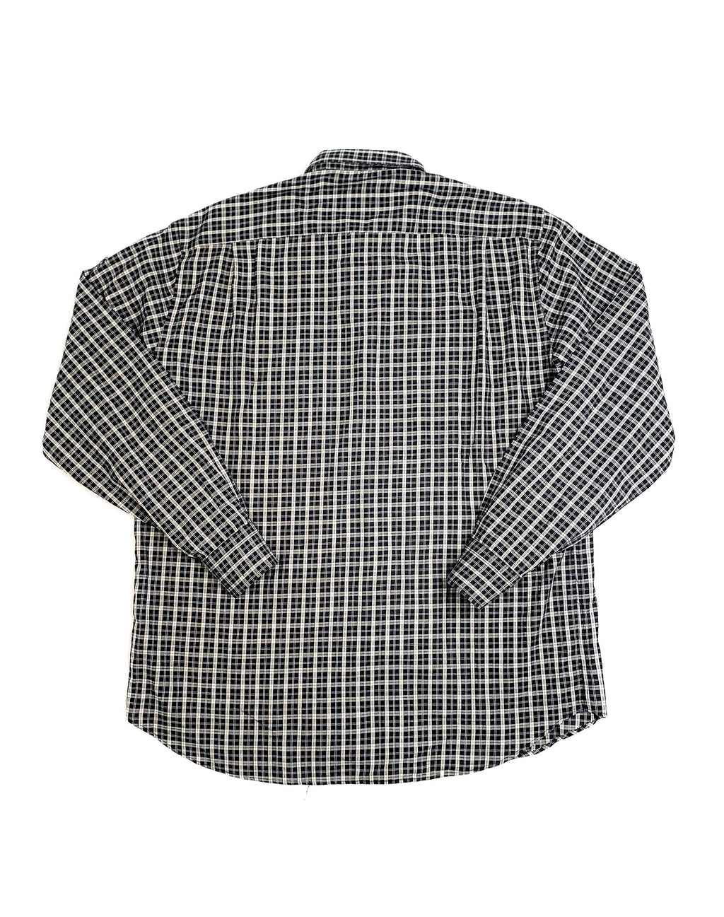 VALENTINO CHARCOAL CHECK SHIRT