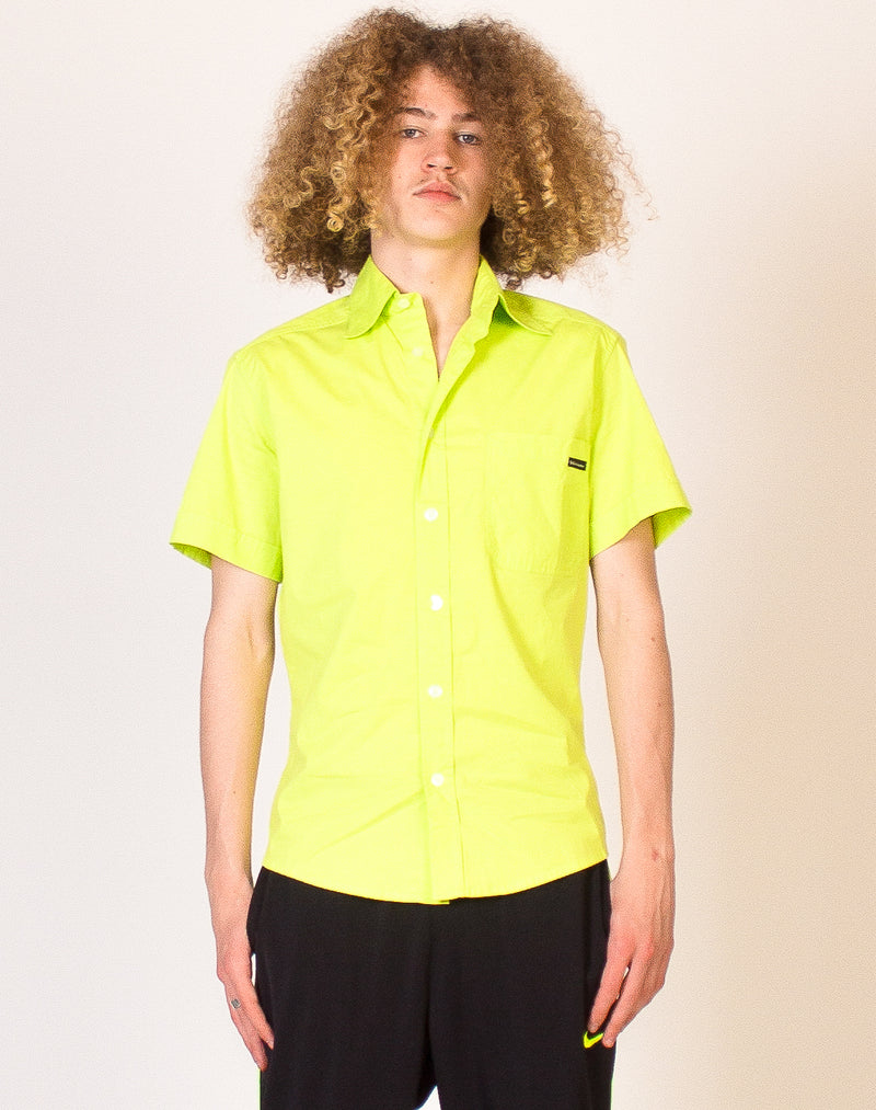 D&G NEON GREEN SHIRT
