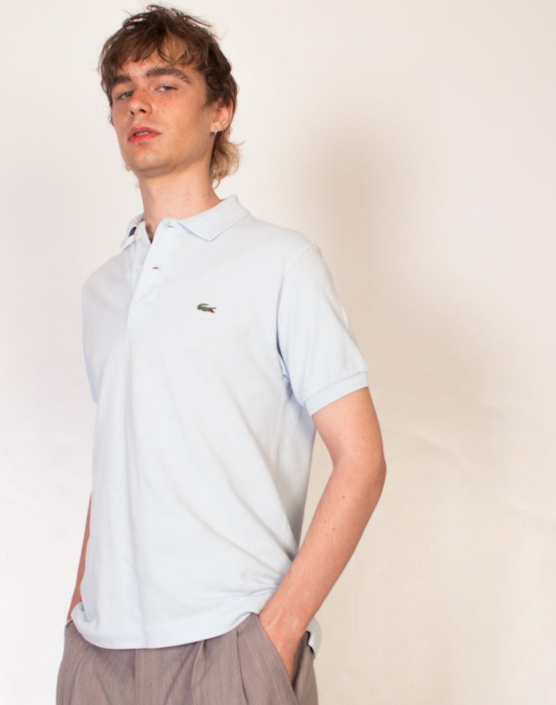 LACOSTE STRIPED CINDY TEE