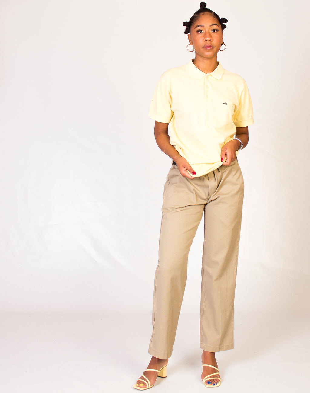 LEVI'S LEMON POLO SHIRT