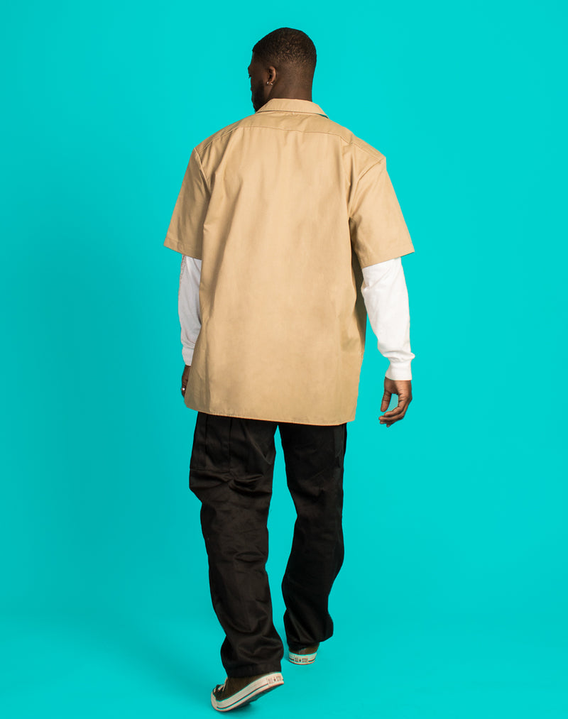 DICKIES CREAM WORKER SHIRT