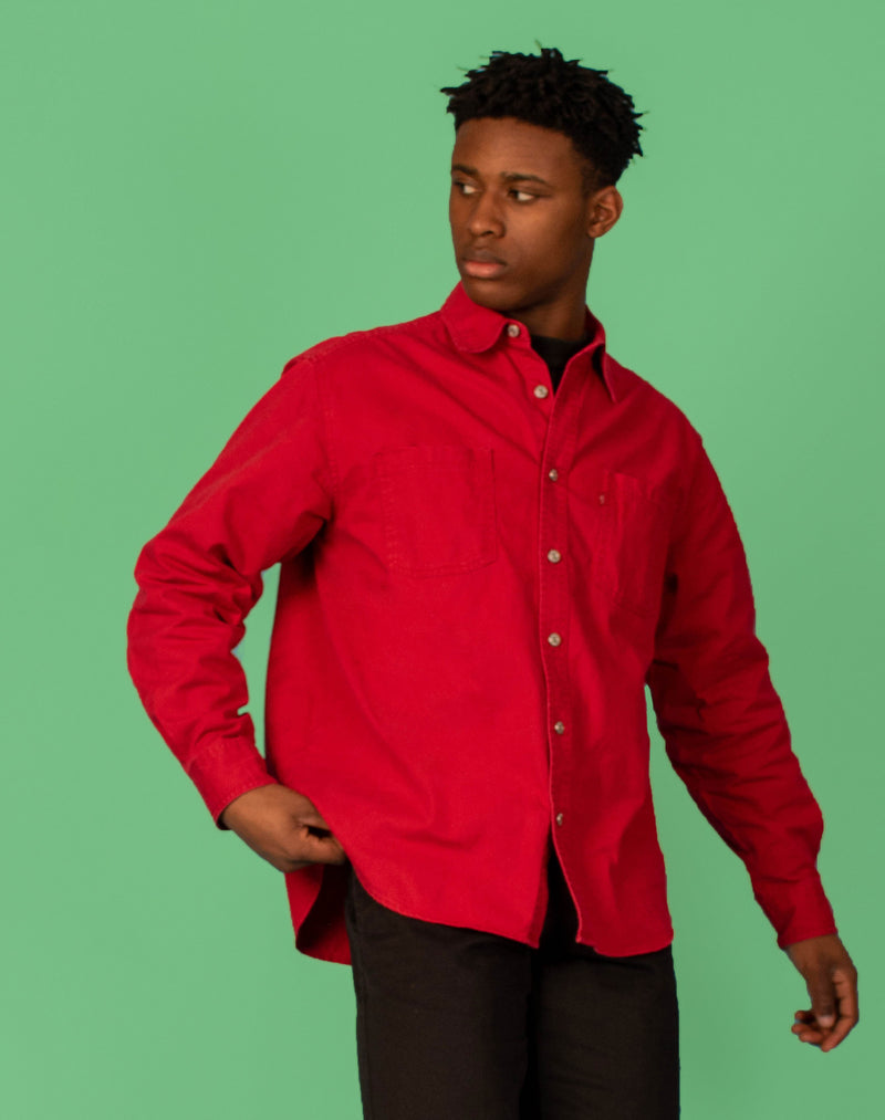 LEVI'S DENIM RED SHIRT