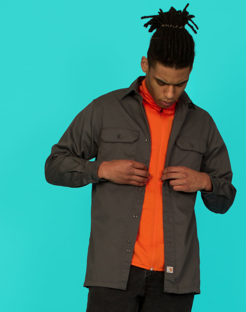 CARHARTT GREY SHIRT
