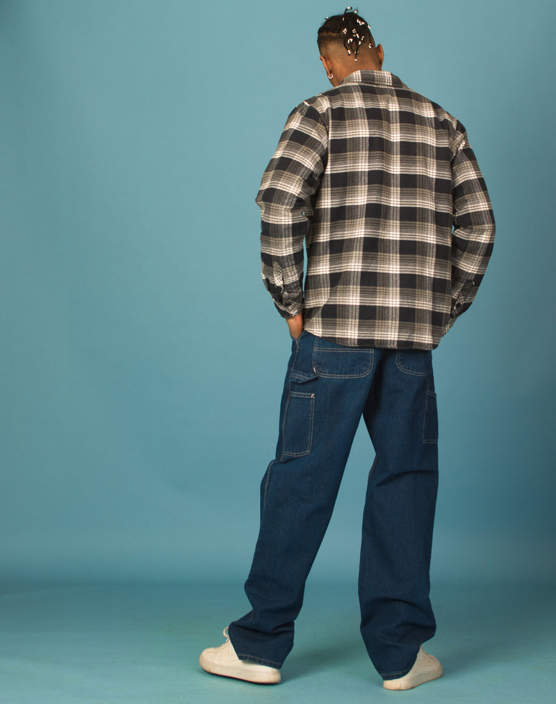 CARHARTT BLUE CHECKERED SHIRT