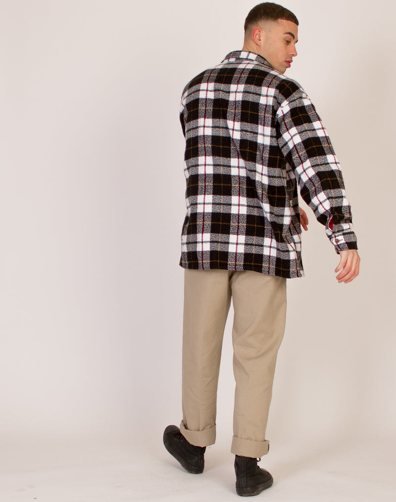 OVERSIZED FLANNEL SHIRT