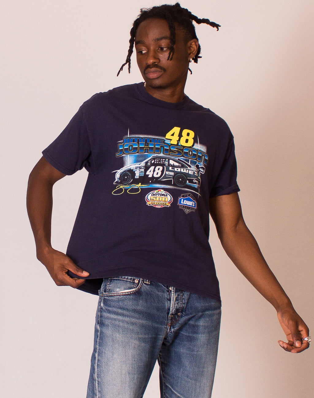 NASCAR JIMMIE JOHNSON RACING T SHIRT
