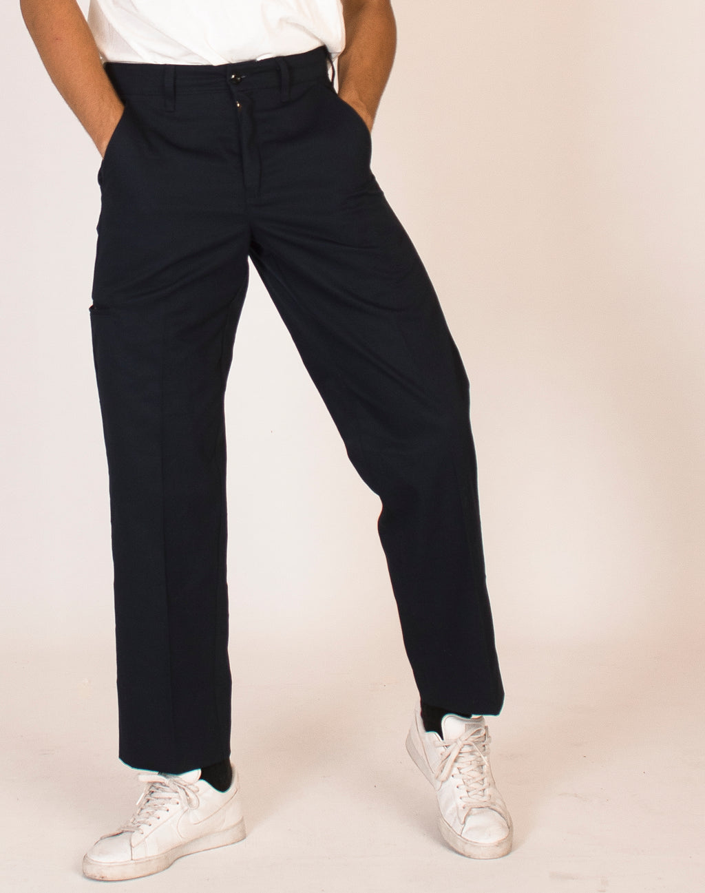 RED KAP NAVY STRAIGHT LEG TROUSERS