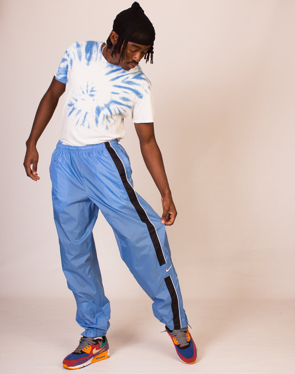 NIKE BABY BLUE JOGGERS